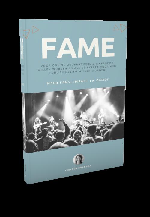 FAME - Voor online ondernemers die beroemd willen worden trnas